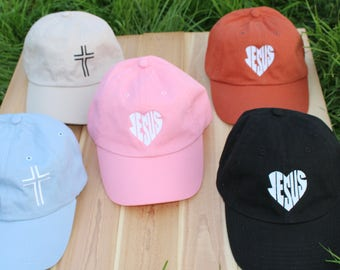Christian Hat | Jesus hats | Womens Christian Hats | Mens Christian Hats | Girls Christian Hats | Boys Christian caps | Christian Dad cap|