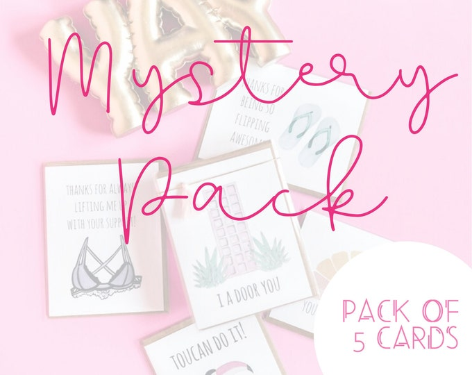 Featured listing image: 5 Card Mystery Pack