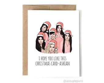 Card-ashian Christmas