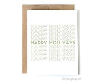 Happy HoliYAYs - Green