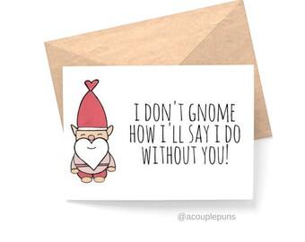 Gnome Bridesmaid