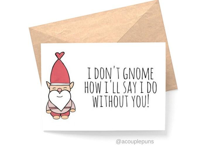 Featured listing image: Gnome Bridesmaid