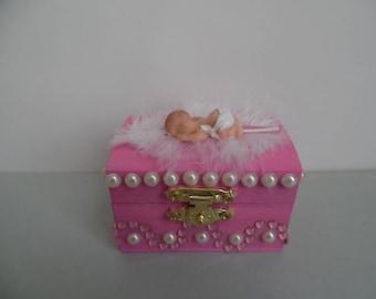 Fimo baby safe box / tooth box