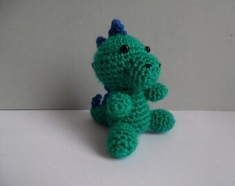 amigurumi dinosaur crochet 10cm