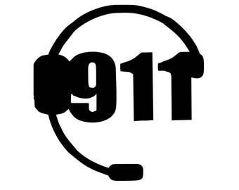 911 Dispatch - Decal