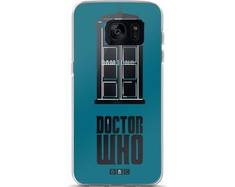 Doctor Who Tardis Samsung Case
