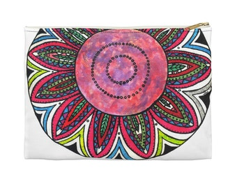 Moon Flower Accessory Pouch