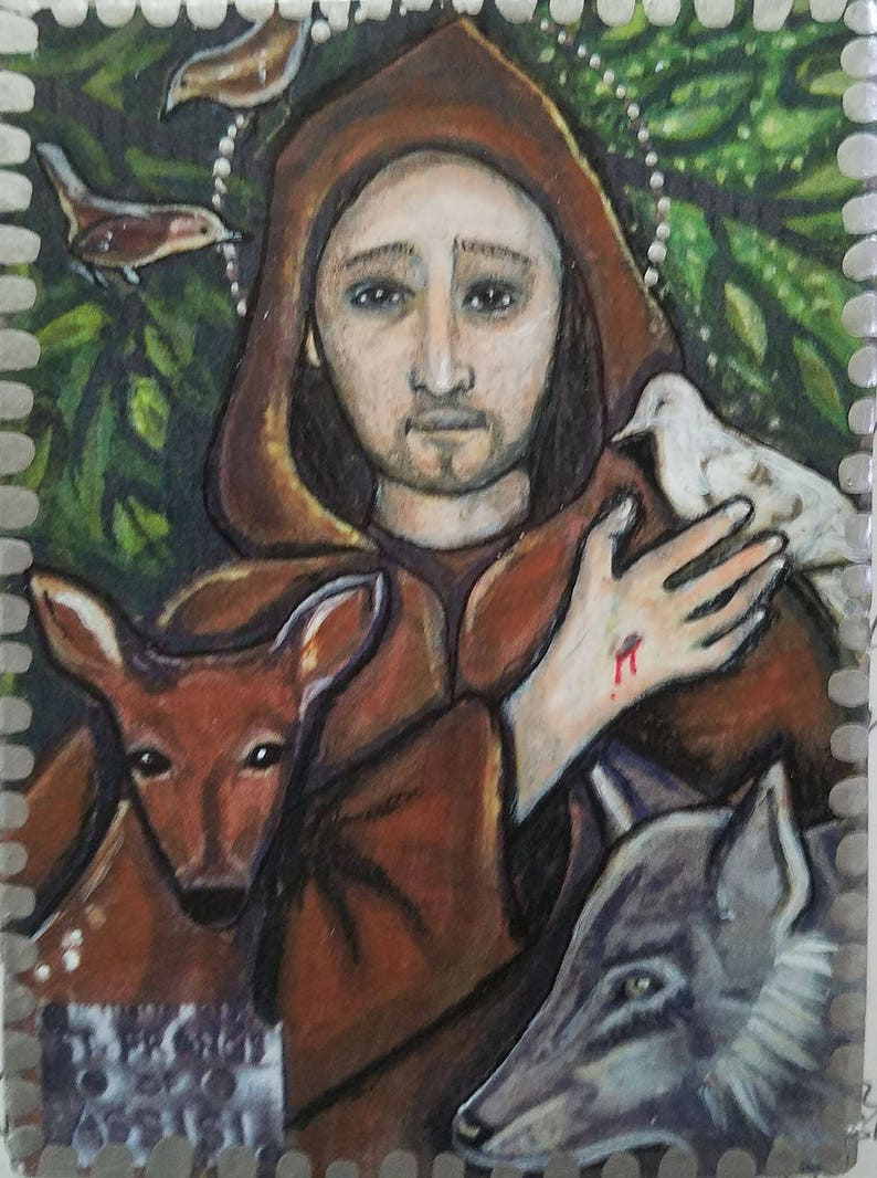 St. Francis of Assisi Icon   Etsy
