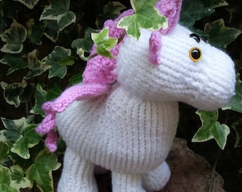 Pink and white unicorn, will be loved by all little ones.