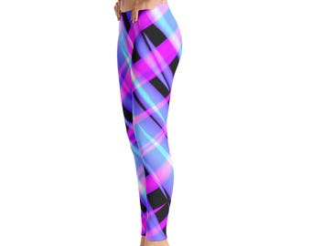 9c712c32d89d47 Wild Leggings|Crazy Leggings|Bright Pink|Lavender|Black|Aqua|Yoga Pants|Comfortable  Fitness Clothing| Workout Pants for Women|Vibrant Colors