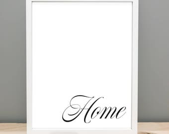 Home Printable Art