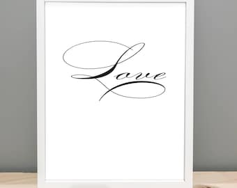 Love - Printable Art