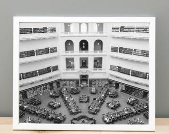 Melbourne Library Printable Art