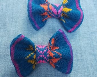 serape bows,bows,baby girl gifts,