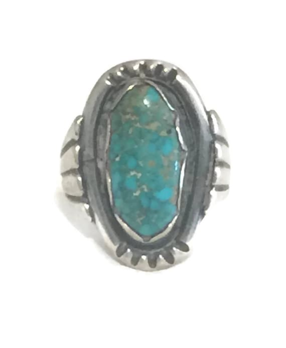 Vintage Sterling Silver Ring Native American Ring