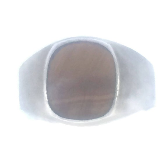 Vintage Sterling Silver Ring Mexico Ring Men Men T