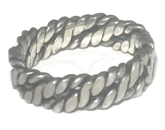 Biker Ring Size 9 Chain Men Ring Size 9 Thumb Ring