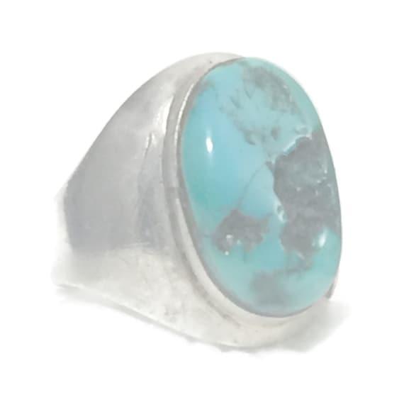 Women Turquoise Ring Women Navajo Ring Size 6 Plus