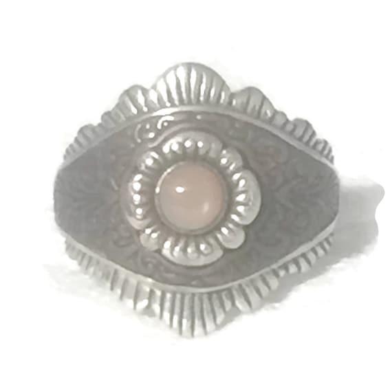 Eye Ring Size 9 Minus Pollack Ring Size 9 Eye Band
