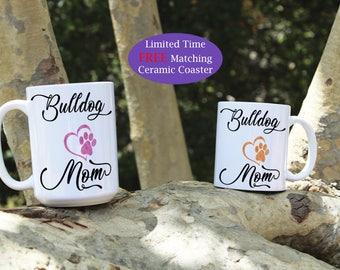 Bulldog mom mug, Bulldog dad mug, Bulldog dog mug, Bulldog mugs, Bulldog dog breed, Bulldog Puppy, Bulldog gift, Dog gift, Cute Bulldog mug