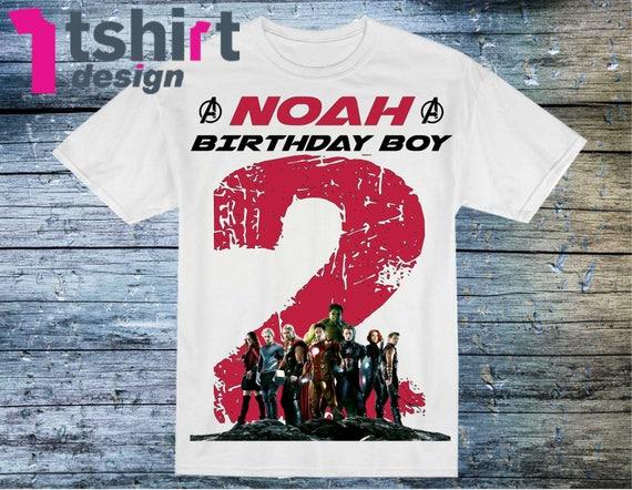 avengers birthday shirt Avengers shirt Avengers birthday boy avengers shirt