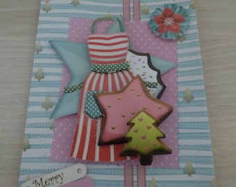 SPECIAL CHRISTMAS STARS 3D CARD