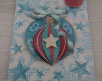 SPECIAL CHRISTMAS BALL ORNAMENT 3D CARD