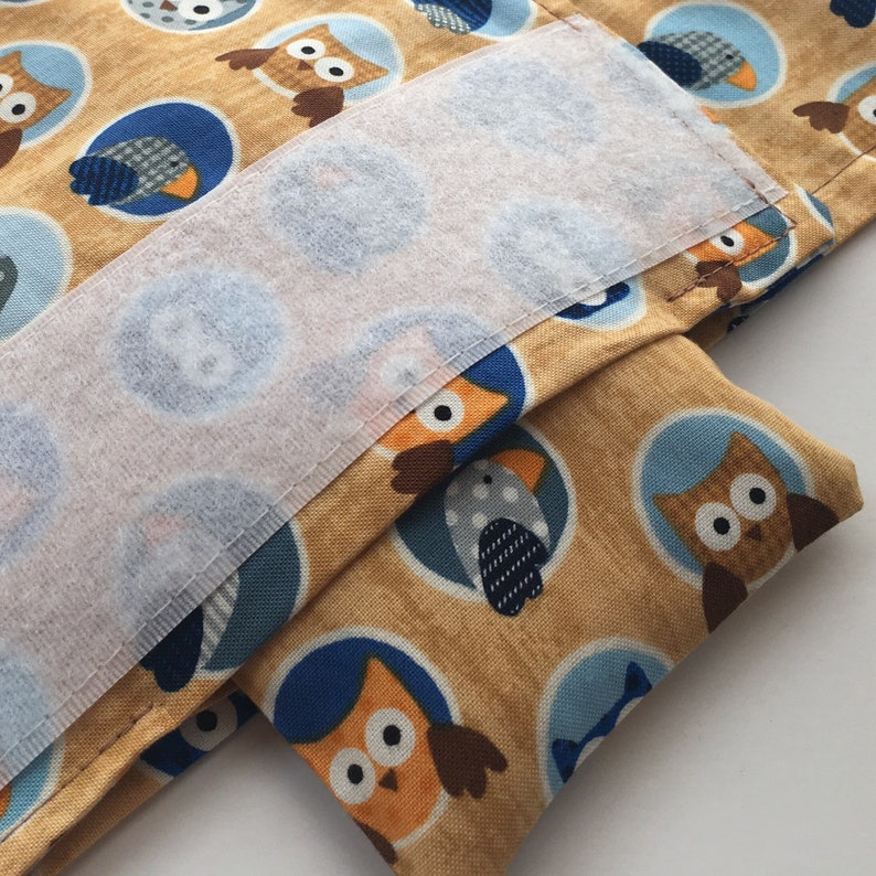 Boy baby shower gift Colic Relief for babies Unique baby gift Newborn baby gift Colic Calm Owl baby gift