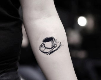 Teacup tattoo | Etsy