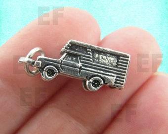 1 Caravan Camper Van RV Charms - EF00344