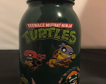 Teenage mutant ninja turtles jar