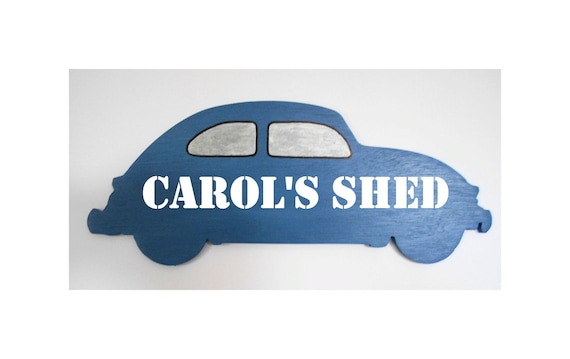 MINI COOPER PERSONALISED DAD/'S SHED PLAQUE SIGN CHRISTMAS PRESENT