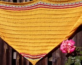 Wool woman shawl quot Yellow quot Shawl, Accessory, Chal, Scialle, Gift, gift, accessory, gift, Wool quot quot