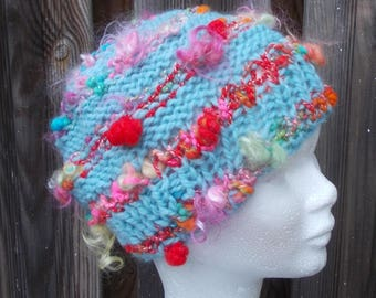 Handmade wool hat Mad Hatter crazy wife