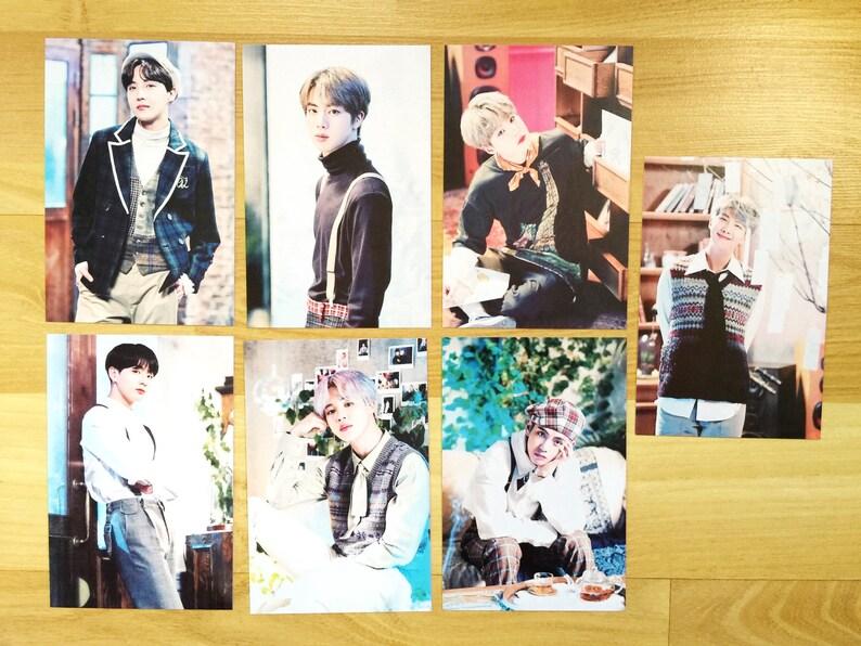 방탄소년단 BTS 2019 5th Muster Magic Shop MD Collection: Mini Poster Photocard