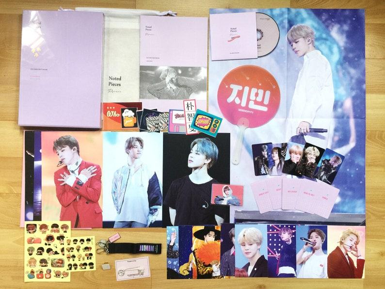 FANSITE | 방탄소년단 BTS Bangtan Jimin Photobook DVD Keyring Set ++ (sealed)