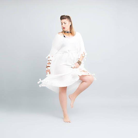 Maxi dress plus size wedding