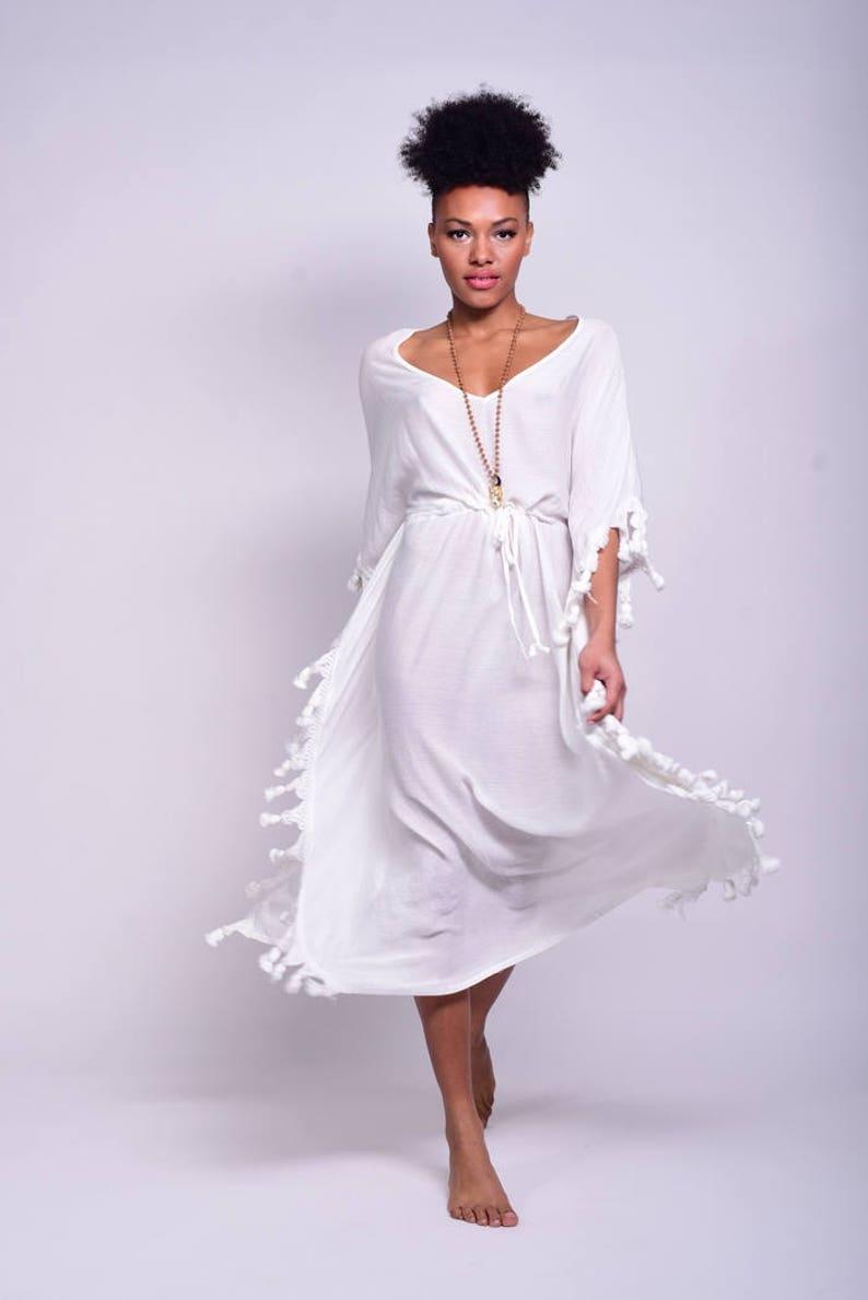 8149f39aab0 Kaftan dress white maxi dress kaftan maxi dress moroccan