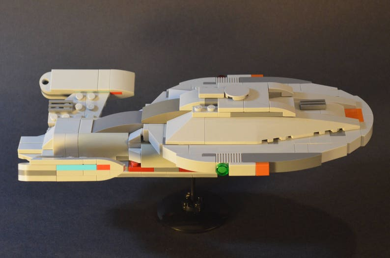 Star Trek LEGO Voyager MOC Instructions Only, no parts