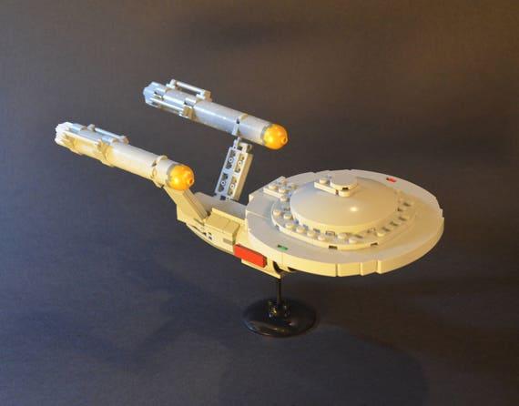 Star Trek Lego Enterprise Ncc 1701 Tos Moc Instructions Only Etsy