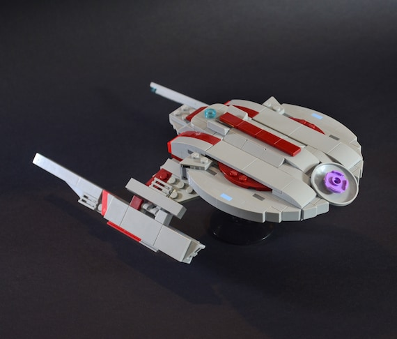 Star Trek Lego Shenzhou Ncc 1227 Moc Instructions Only No Etsy