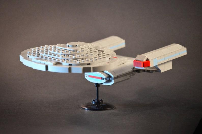 Star Trek LEGO Enterprise 1701-D TNG Moc Instructions Only, no parts