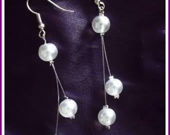 Sweet earrings bridal - wedding