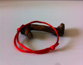 ODALRIK Buddhist BRACELET red, lucky