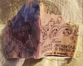 "CUSTOM Set Harry Potter//American Girl//18/"" Doll Sz Quibbler Marauders Map Potions"