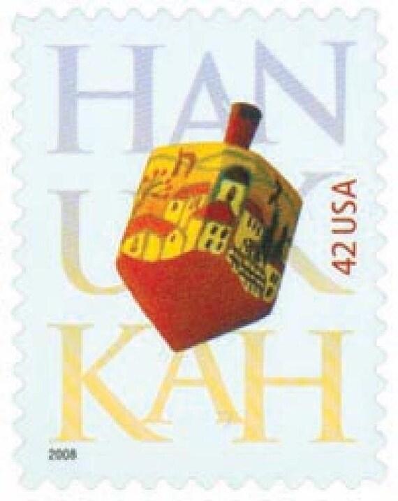 Full Sheet of 2006 39 Cent Hanukkah Jewish Holiday Postage20 Stamp SheetMNHScott #4118Spinning DreidelHebrew Holiday Celebration