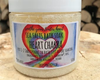 Heart Chakra Dead Sea Salts Bath Soak