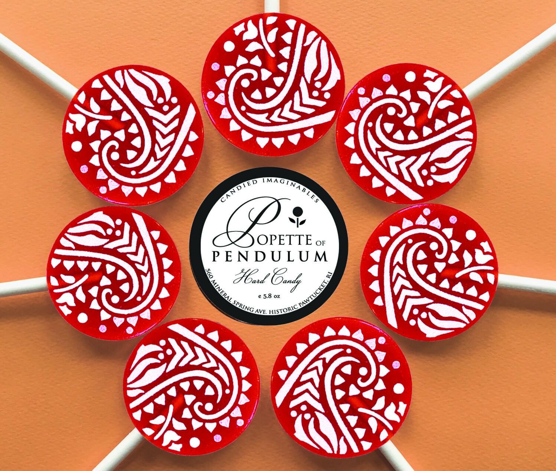 24 Caramel Apple Cider Lollipops Wedding Favors Party