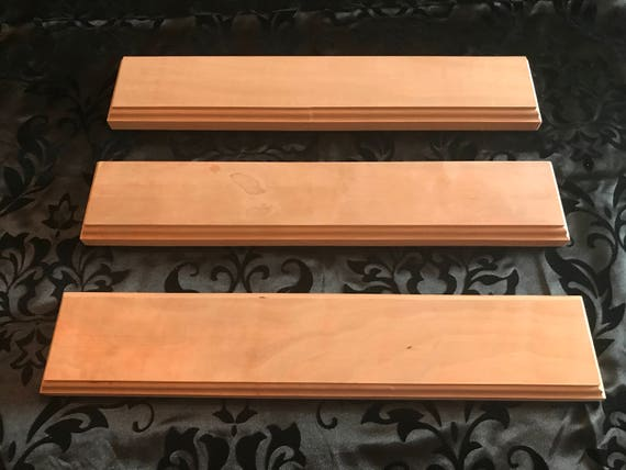 DIY Make Your Own Sign Set Of Three 40 Unfinished Etsy Simple Make Your Own Decorative Sign