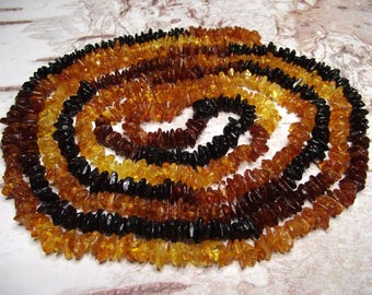 Natural Baltic Amber Necklace 200cm
